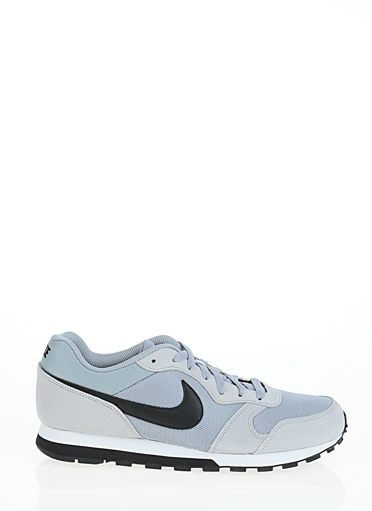 7c69c615a7 Nike Erkek Md Runner 2 Wolf Grey Black-White.